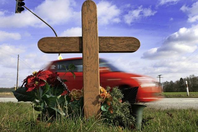 Weniger Verkehrstote im Jahr 2016