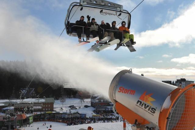 Endlich Skifahren im Schwarzwald – dank Kunstschnee