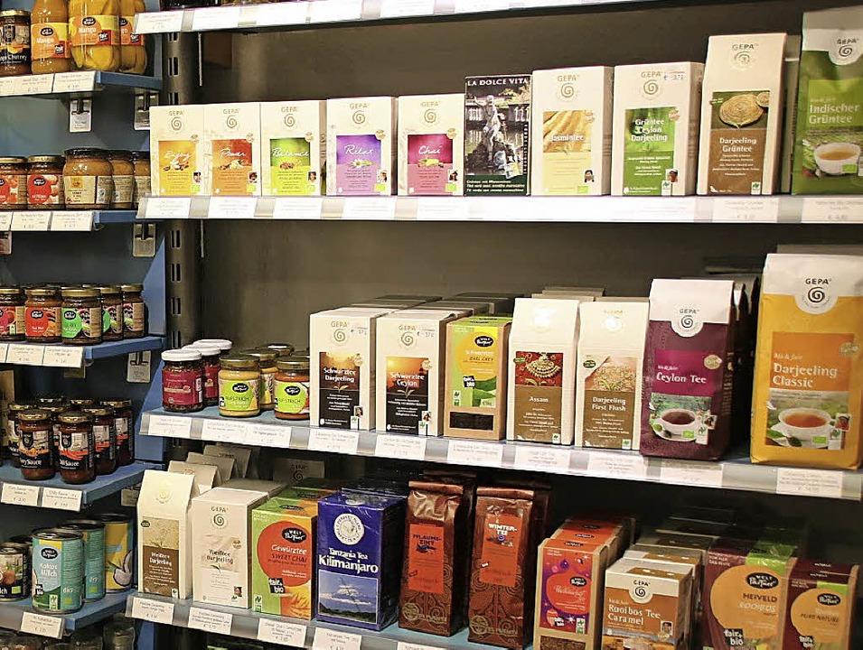 Fair gehandelter Kaffee und Tee kommen... Herrischried zunehmend in die Tassen.  | Foto: MARTIN KÖPFER