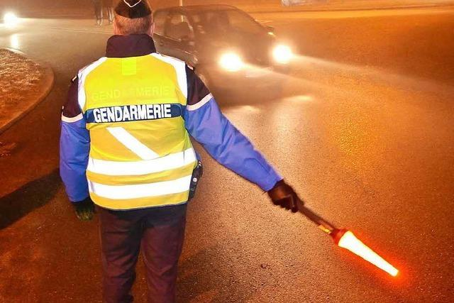 Gendarmerie bei Breisach beschlagnahmt Silvesterkracher