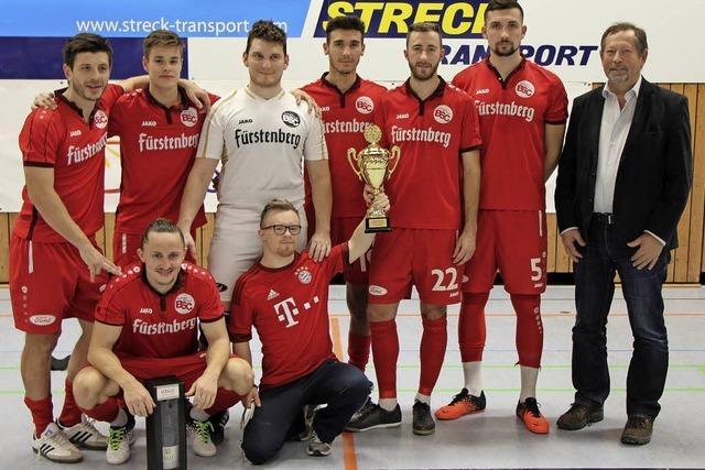 Bahlinger SC ist Gewinner des 37. Fußball-Hallenturniers