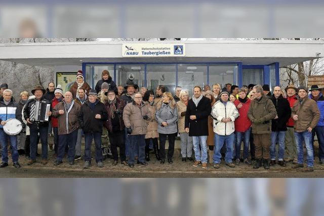 Neujahrstreffen am Rhein in Gedenken an Arsène Schnepf