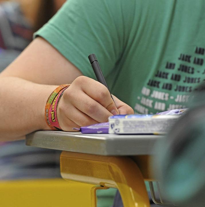 Die beruflichen Schulen von Bad Säckingen informieren wieder über ihr Angebot.   | Foto: Armin Weigel (dpa)