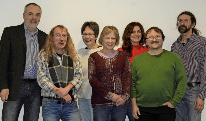 Die Weiler BZ-Redaktion mit  (von link...erbert Frey (hf) und Ulrich Senf (us)     Foto: BZ