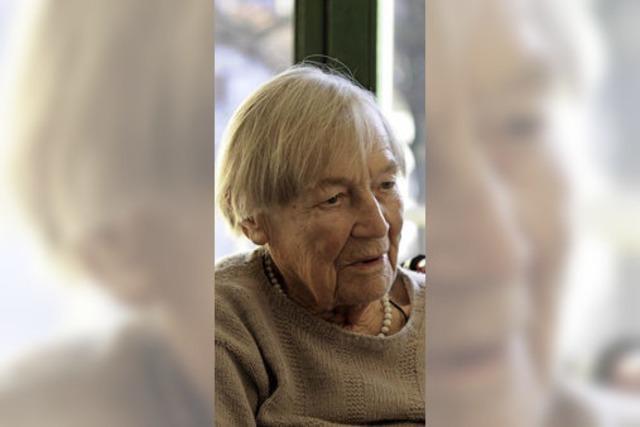 Rosalie Mucha-Burtik ist gebürtige Schlesierin und feiert heute ihren 100. Geburtstag