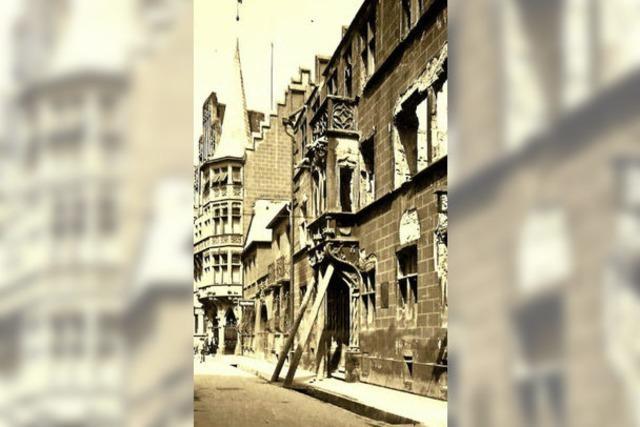 Wie sich ein Erker an der Franziskanerstraße verändert hat