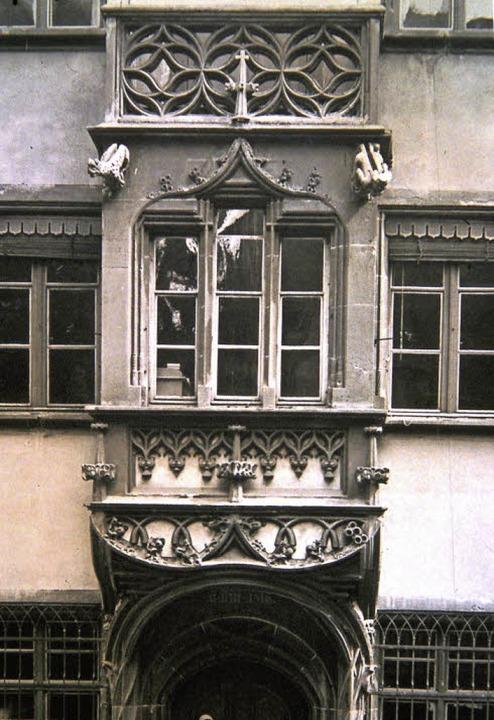 Um das Jahr 1890, damals im Eigentum d...de zusätzlich mit Blattgold verziert.   | Foto: Archiv Hans Sigmund
