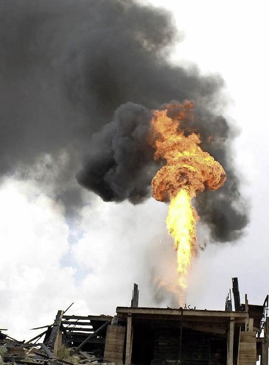 Öl! Ein Segen für Suggental ? Oder vielleicht doch nicht?   | Foto: Dpa