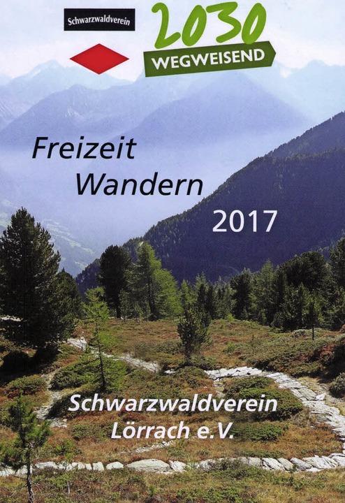 Das neue Programm des Lörracher Schwarzwaldvereins   | Foto: schleer