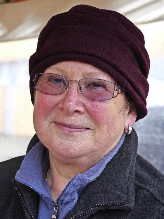 Helga Zängle    Foto: Katharina Bächle