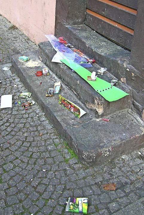 Während die Hobbygärtner schnell und a...eger und die Stadtreinigung<ppp></ppp>  | Foto: Sylvia-Karina Jahn