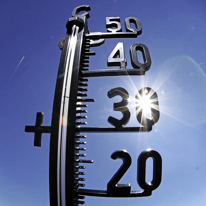 Temperaturen hoch, Laune gut!  | Foto: dpa