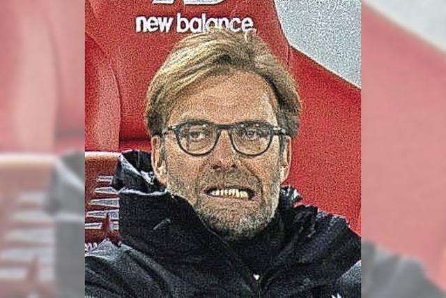 Klopp glücklich, Guardiola geknickt