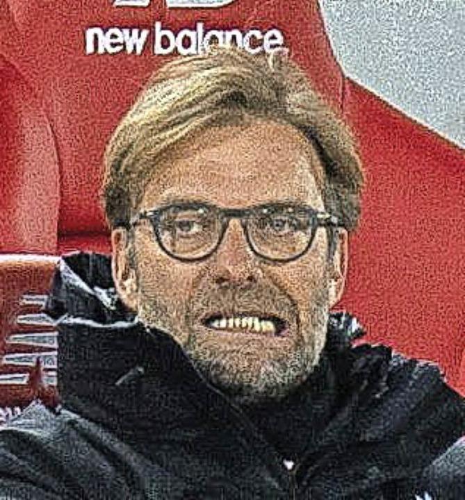 Wo ist da die neue Balance? Jürgen Klopp coachte wie immer ziemlich verbissen.   | Foto: dpa