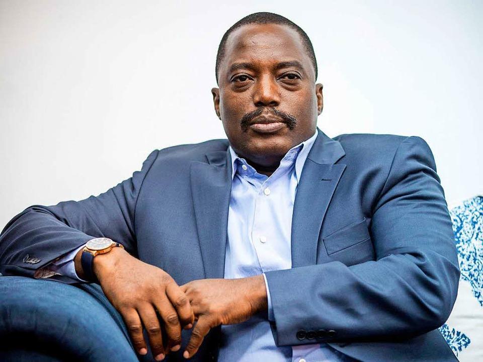 Möchte wider die Verfassung weiteregieren: Kongos Präsident Joseph Kabila    Foto: dpa