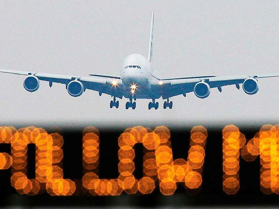 Auch im Airbus A380 steckt Technik aus Südbaden.     Foto: DPA