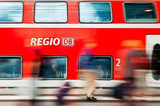 Verspätungen im Nah- und Fernverkehr nach Personenunfall bei Gundelfingen