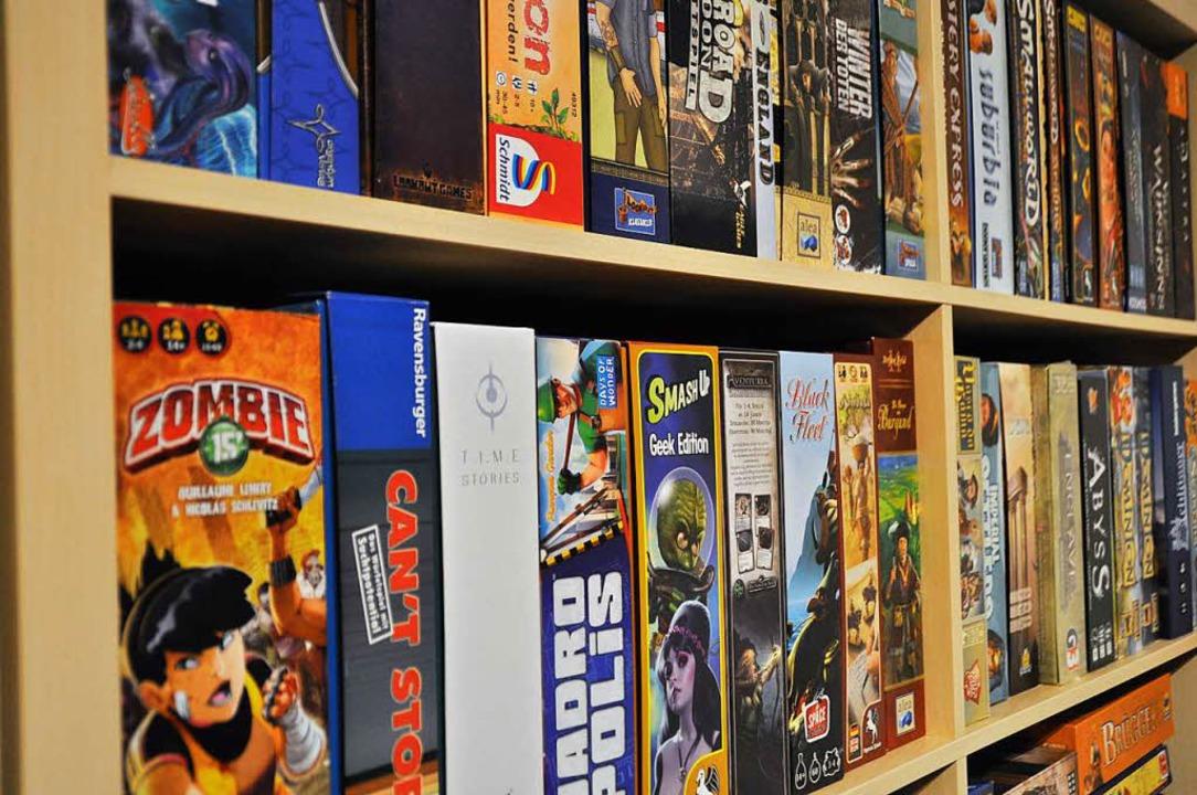 Ein Teil der Spielesammlung von Freispiel Freiburg.  | Foto: Robin Wille