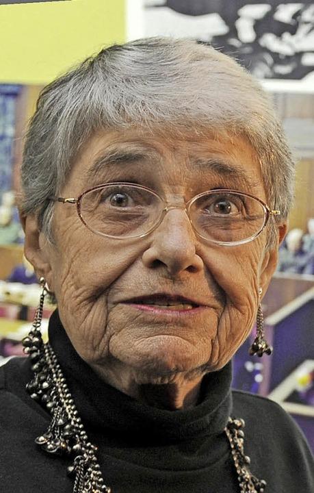 Hedy Wachenheimer-Epstein  | Foto: dpa