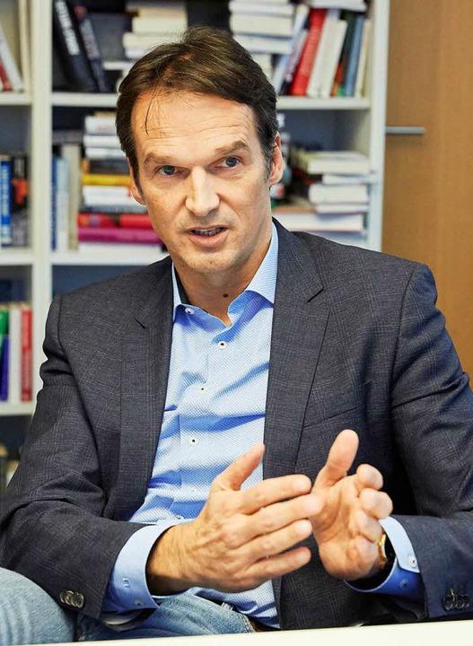 Heute Chefredakteur beim Spiegel: Klaus Brinkbäumer  | Foto: dpa