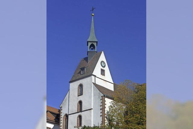 Seit 500 Jahren gibt es die Kirche auf dem Dinkelberg