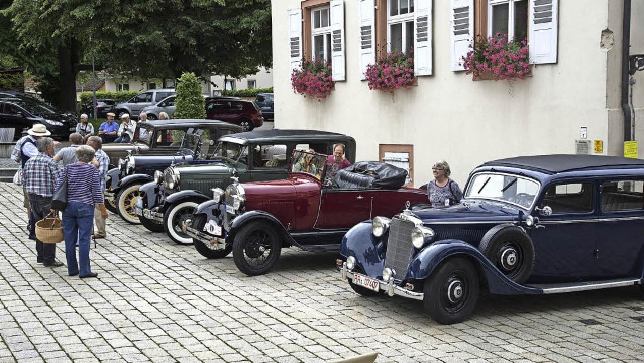 Spritztour gegen Spende: Die Idee des ...sem Jahr eine Wiederholung geben soll.  | Foto: Volker Münch