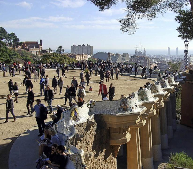 Park Güell, Barcelona  | Foto: Volker Huber