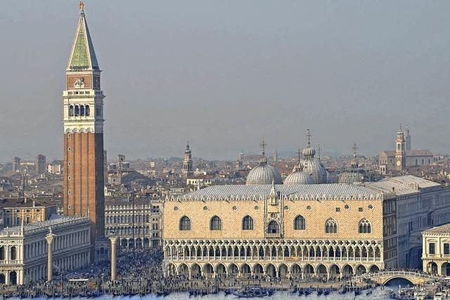 Venedig leidet unter den vielen Touristen
