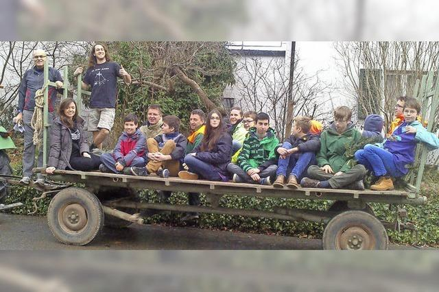 CVJM sammelt wieder Weihnachtsbäume ein