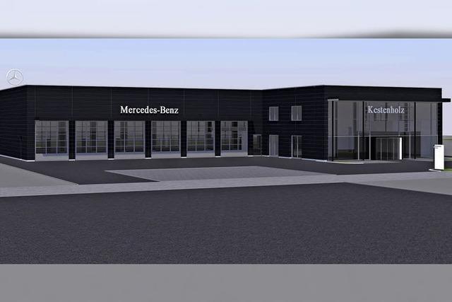 Im Gewerbegebiet entsteht ein neues Kompetenzzentrum für LKW