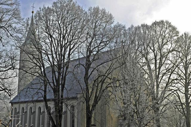 Kirche ganz in Weiß