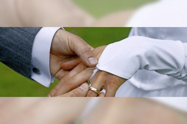 Heiraten liegt wieder voll im Trend