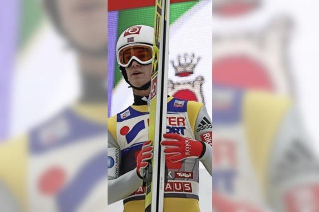 Norweger Daniel André Tande geht bei Vierschanzentournee in Führung