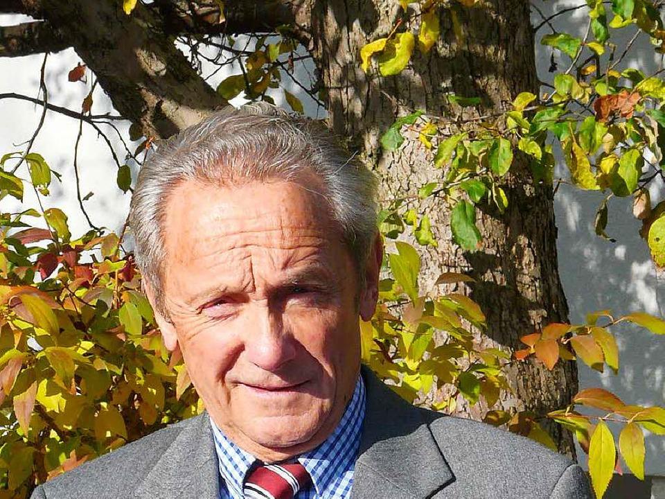 Lothar Neumann ist seit  der Gründung ...urkheim im Jahr 2000 ihr Vorsitzender.    Foto: Privat