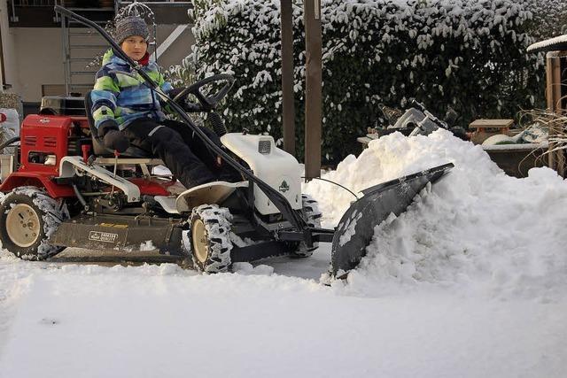Schnee und Eis machen mobil