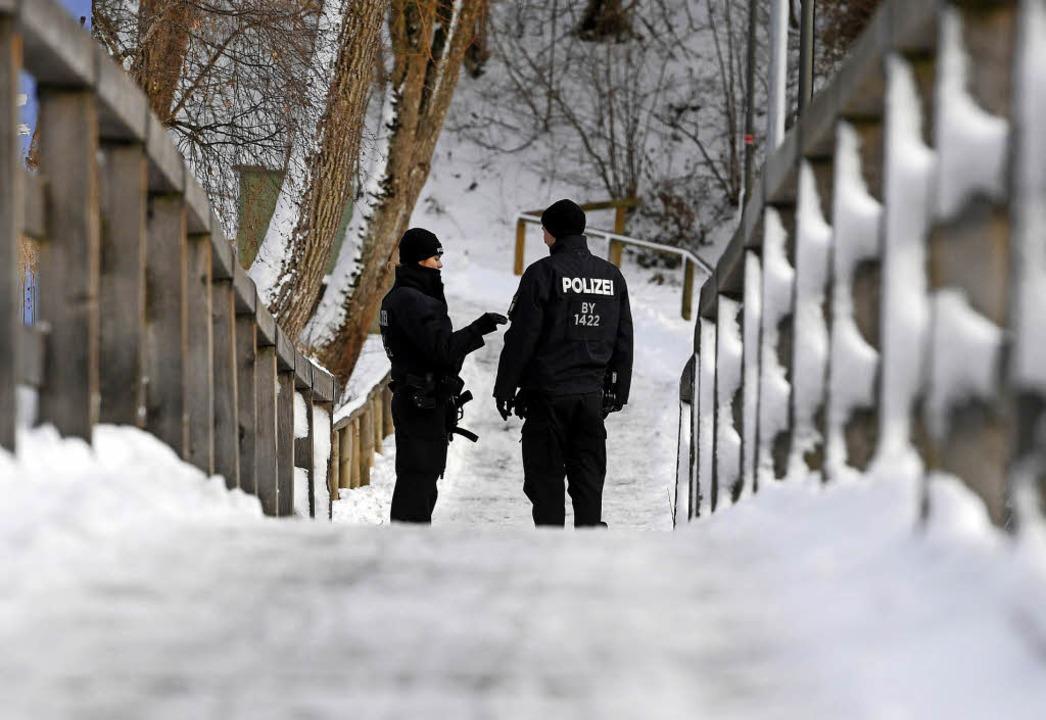 Polizeischutz für das CSU-Treffen in Oberbayern   | Foto: dpa