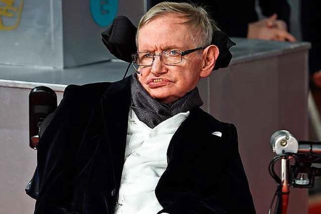 Physiker Stephen Hawking wird 75 Jahre alt