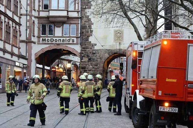Feuerwehreinsatz in der Kaiser-Joseph-Straße