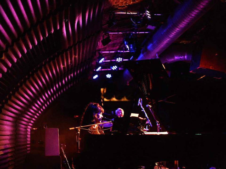 Me And My Drummer im Freiburger Jazzhaus  | Foto: Janos Ruf