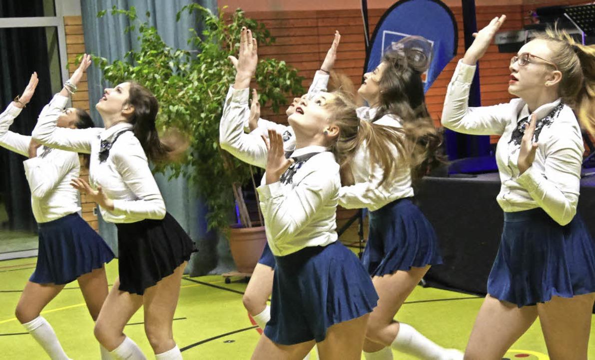 Die ausdrucksstarke Hip-Hop Formation ...n Ballbesuchern gefiel die Darbietung.  | Foto: Rank