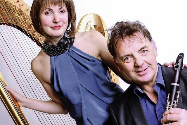 Simone Seiler und John Corbett treten im Rahmen der Schlosskonzerte auf