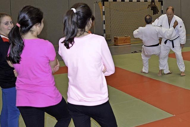 Judo steht auf dem Stundenplan