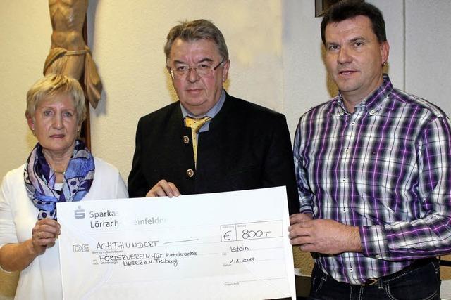 2725 Euro für krebskranke Kinder