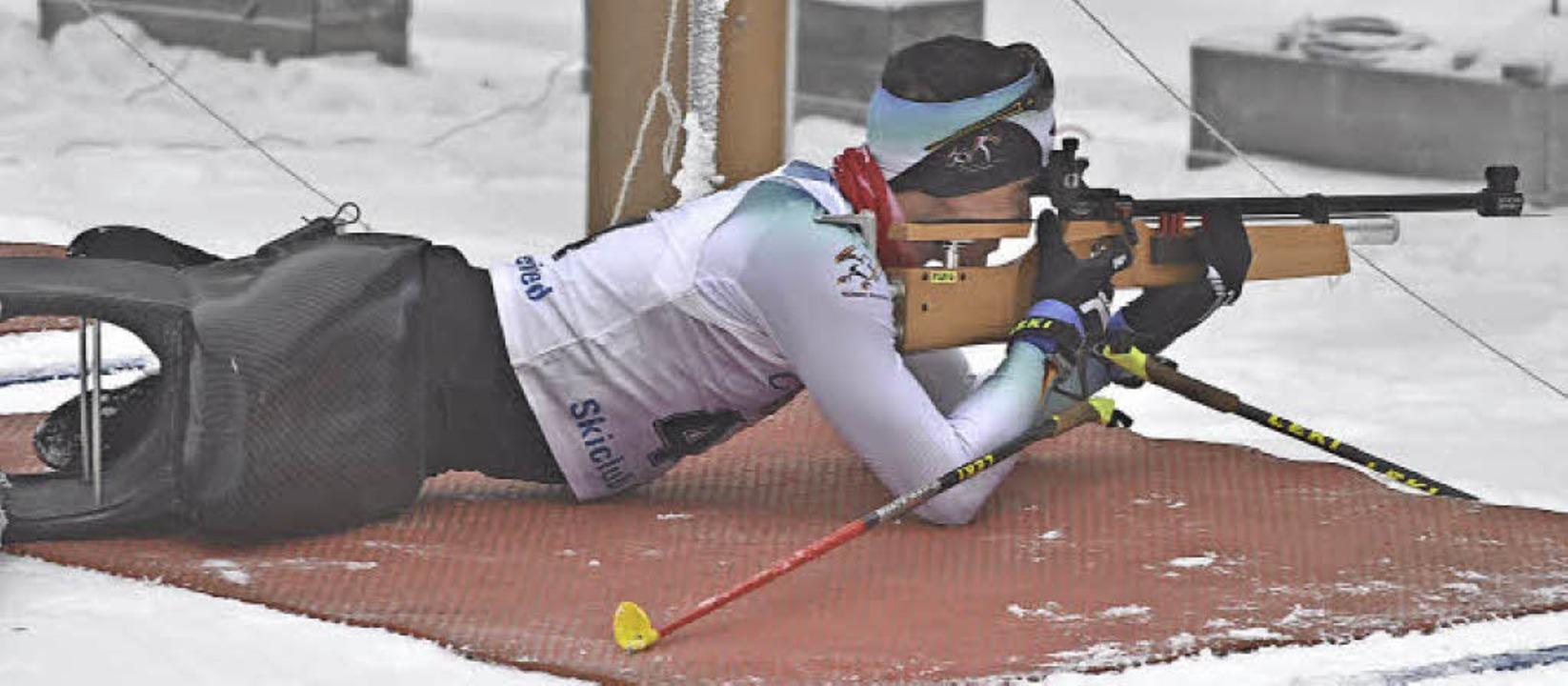 Martin Fleig sicherte sich bei der deu...itel im Klassiklanglauf und Biathlon.   | Foto: Simone Zeller