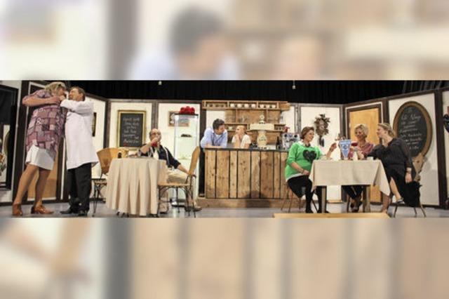 Heilloses Chaos auf der Theaterbühne