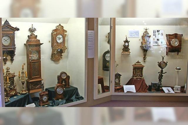 Flötenuhr soll Ausstellung bereichern