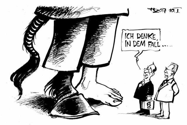 ... wäre 'ne elektronische Fußfessel nicht übertrieben!