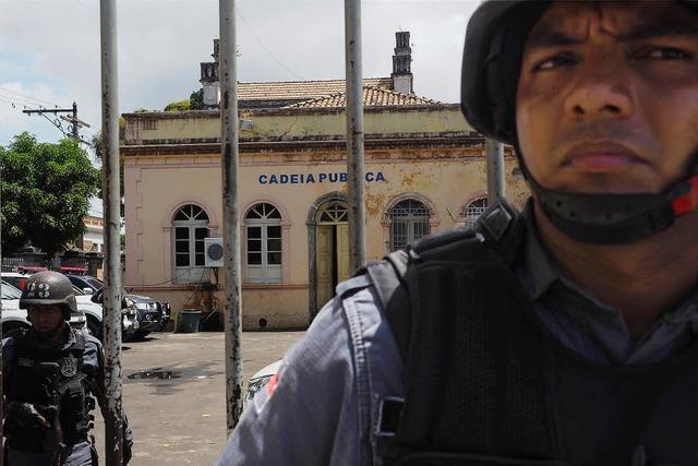 Gefängnisse in Brasilien sind außer Kontrolle