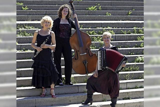 Jüdische Musik mit Klezmers Techter im Schlössle Heiligenzell