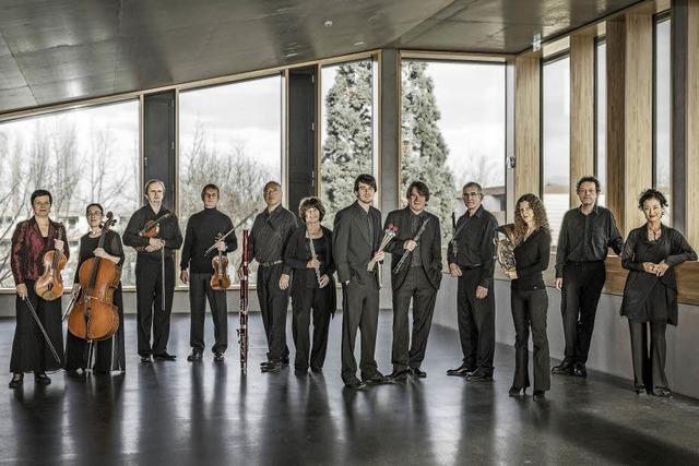 Das Ensemble Aventure konzertiert in der Elisabeth-Schneider-Stiftung